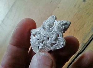 Lost Wax Casting – The Jelling Dragon – Viking Crafts
