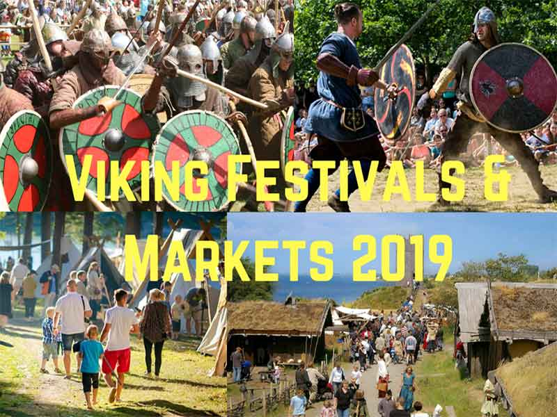 Viking Festivals & Markets 2019